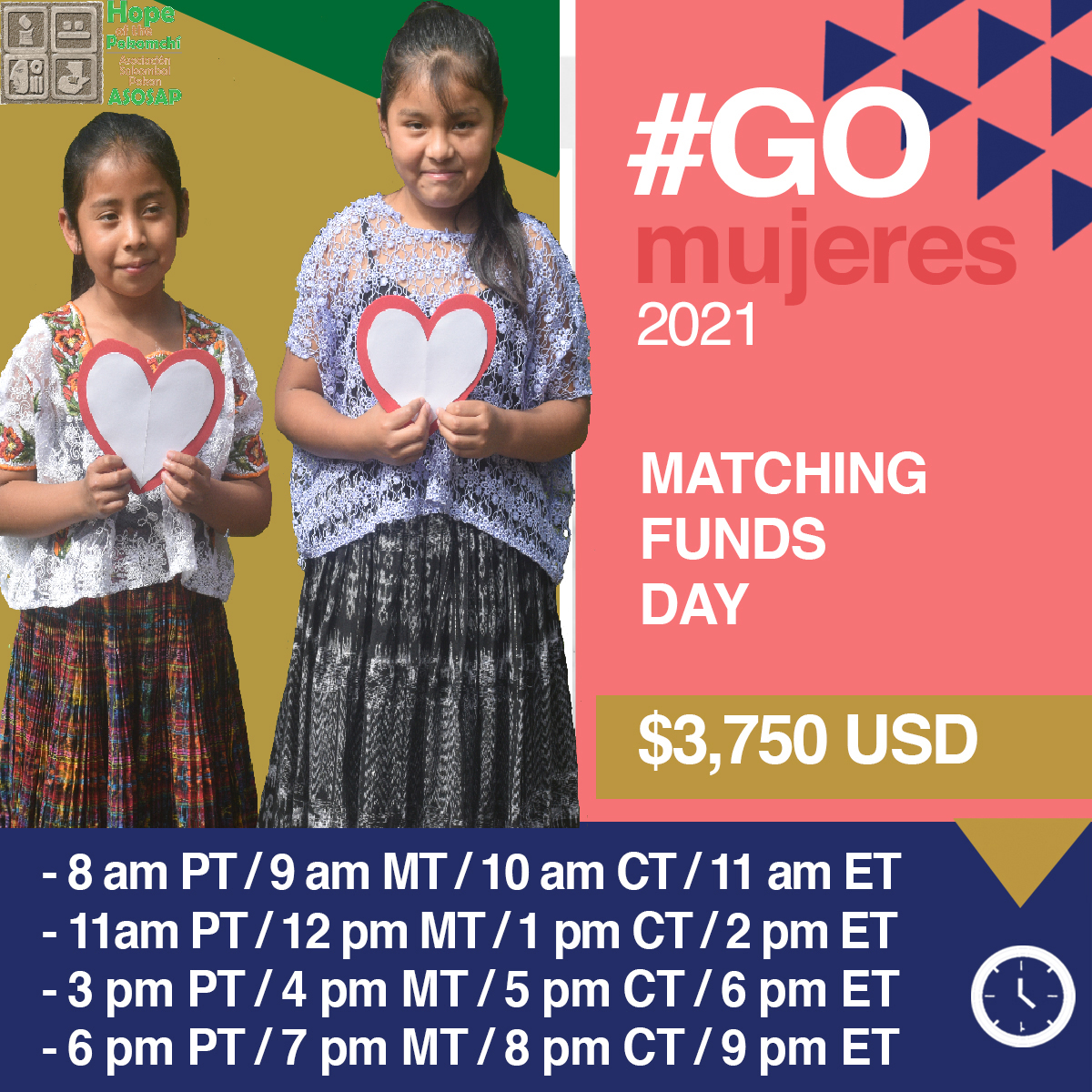 Matching Funds Image for March.8th